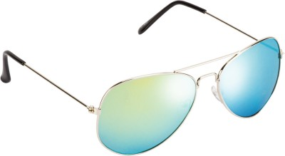 Colorfast Aviator Sunglasses