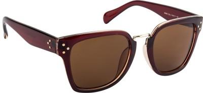 Farenheit FA-96969-C2 Wayfarer Sunglasses(Brown)