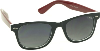 IDEE IDEE-S1727-C4 Wayfarer Sunglasses(Black)