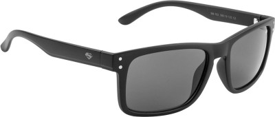 Superman SM-702-C2 Rectangular Sunglasses(Grey)