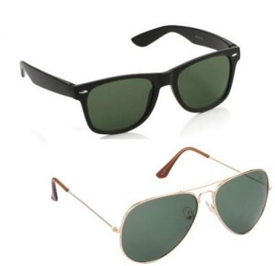 Edge Plus Wayfarer, Aviator Sunglasses