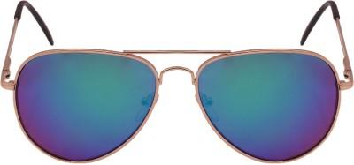 BARCODE Aviator Sunglasses