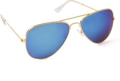 6by6 SG109 Aviator Sunglasses(Blue)