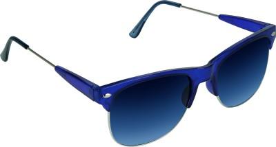 Garmor (8903522115035 /Blue Color Blue Frame) Rectangular Sunglasses