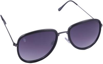 Esque Rectangular Avaitor Aviator Sunglasses