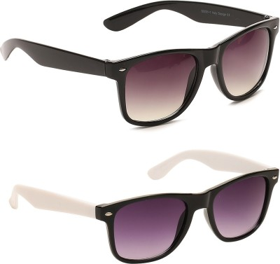 Camerii SW_01&15 Rectangular Sunglasses(Multicolor)