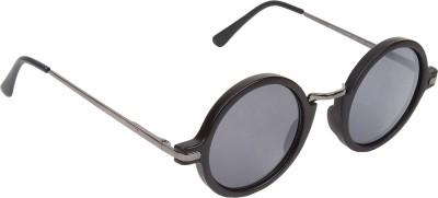 David Martin Round Sunglasses