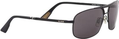 Pal Zileri PZ10001 C1 Rectangular Sunglasses(Grey)