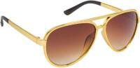 VESPL V-154-1Unisex Aviator Sunglasses(Brown) best price on Flipkart @ Rs. 455