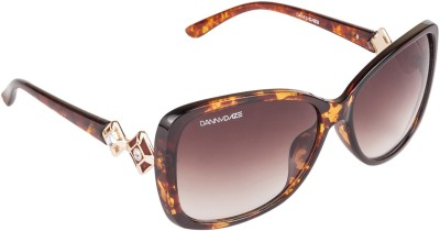 Danny Daze D-245-C3 Over-sized Sunglasses(Brown)