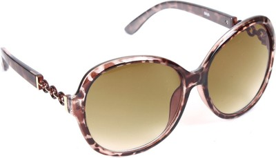 6by6 SG609 Over-sized Sunglasses(Brown)