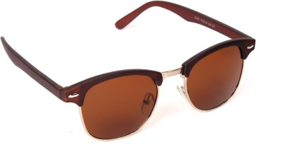 6by6 SG785 Round Sunglasses(Brown)
