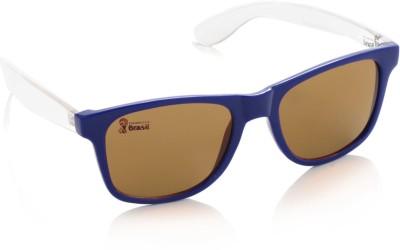 FIFA FB-S-205 Wayfarer Sunglasses(Brown)