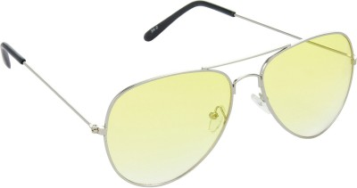 Red Leaf RD-BX38_1 Aviator Sunglasses(Yellow)