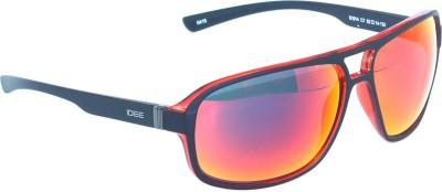 IDEE IDEE-1914-C7 Wayfarer Sunglasses(Multicolor, Red)