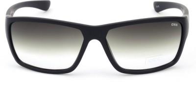 IDEE IDS2008C6SG Rectangular Sunglasses(Green)