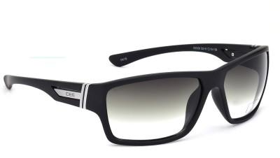 IDEE IDEE S2008 C6 61 Wrap-around Sunglasses(Green)