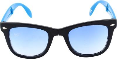 Omnesta 9blue Rectangular Sunglasses