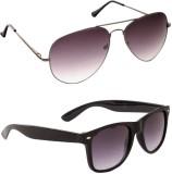 Tbuyyo 1100c Wayfarer Sunglasses (For Bo...