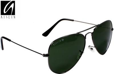 Aislin Premium Toughened Lens Gun Metal Aviator Sunglasses