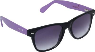 Imagica Purple Wayfarer Sunglasses