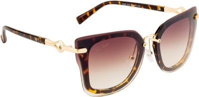 Ted Smith TS-7928/S_C25 Over-sized Sunglasses(Brown)