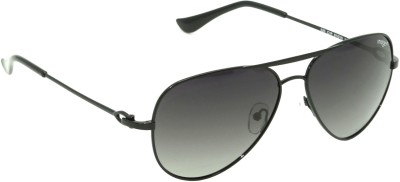 IMAGE IM-520-C1P Aviator Sunglasses(Black)