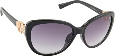 Farenheit 1814 Cat-eye Sunglasses(Grey)
