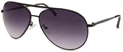 Kenneth Cole KC1262@6301B Aviator Sunglasses(Violet)