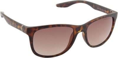 Farenheit 1144-C3 Wayfarer Sunglasses(Brown)