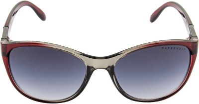 Farenheit 1311 Oval Sunglasses(Grey)
