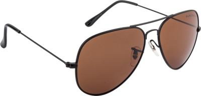 Farenheit FA-4060P-C6 Aviator Sunglasses(Brown)