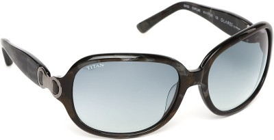 Glares by Titan G022CXFL9E Over-sized Sunglasses