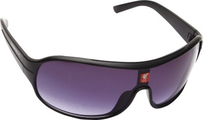 Liverpool FC Black Wrap-around Sunglasses