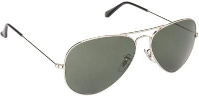 Ray-Ban RB3025003/58 Aviator Sunglasses(Grey) at flipkart