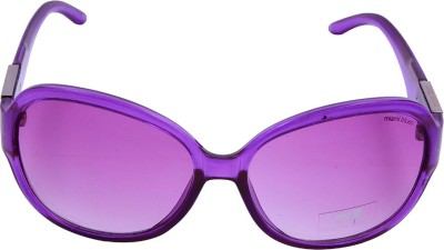 Miami Blues MB7032D Oval Sunglasses(Violet)