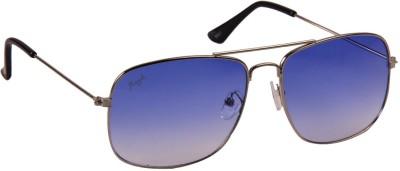 Floyd 54001_SIL_BLUE Rectangular Sunglasses(Blue)