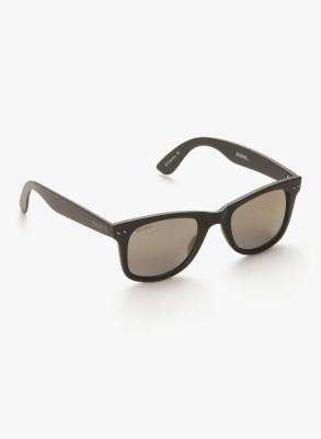 MTV Roadies RD-112-C6 Grey Mirror Wayfarer Sunglasses(Grey)