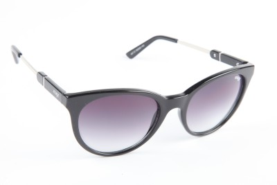 IMAGE IM-447-C1 Round Sunglasses(Black)