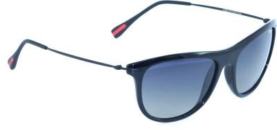 IDEE IDEE-2028-C2-P Wayfarer Sunglasses(Black)