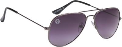 Gold Berg Aviator Sunglasses