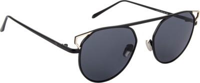 Voyage J1016MG2064 Round Sunglasses(Black)