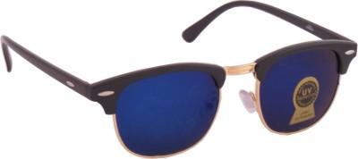 Euro Trend Trendy Blue Wayfarer Sunglasses