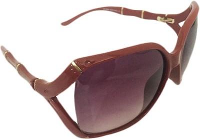 Zaira diamond Over-sized Sunglasses