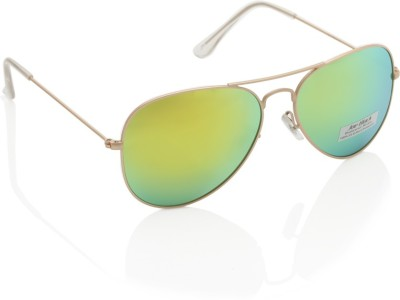 Joe Black JB-3025P-C10 Aviator Sunglasses(Yellow)