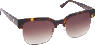 Mango Pickles R-2042-Brown-Demi Wayfarer Sunglasses(Brown)