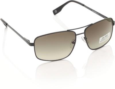 Joe Black JB-602-C1 Rectangular Sunglasses(Grey)