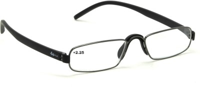 40 XPLUS Reading EyeGlass Power +2.25 Rectangular Sunglasses