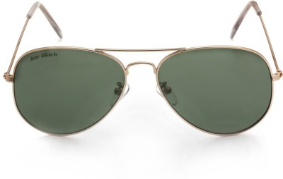 Joe Black JB-556-C1 Aviator Sunglasses(Green)
