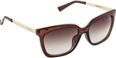 Farenheit 1801 Rectangular Sunglasses(Brown)